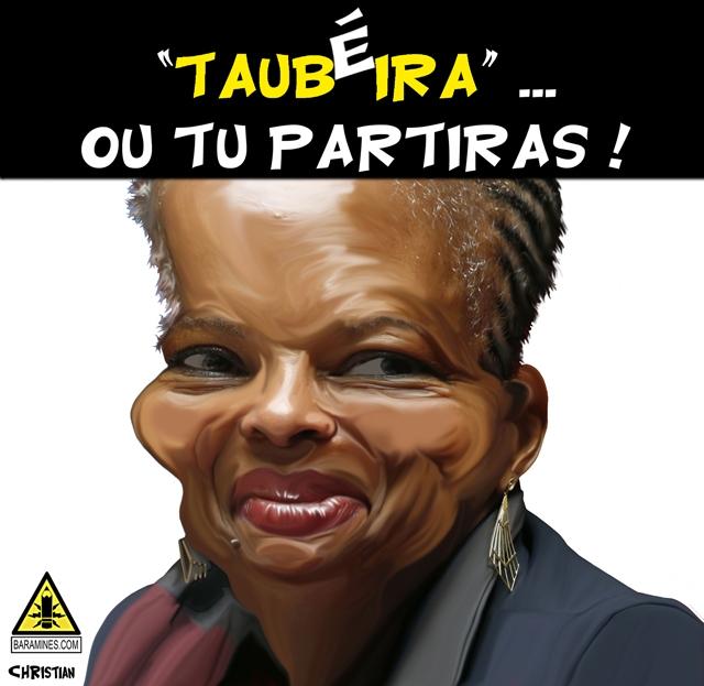 Christiane Taubira par chris69